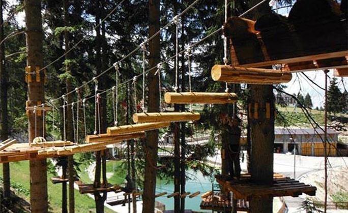 Adrenalin park u Eko - Fis Vlašiću!