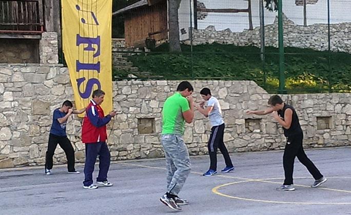 Mladi boxeri iz Zadra na pripremama u Eko-FIS Vlašiću