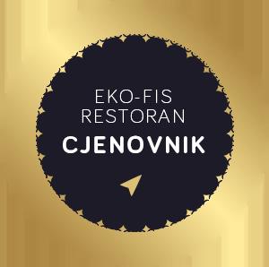 Cjenovnik za restoran - Eko-FIS Vlašić
